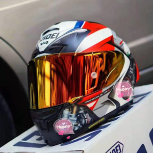 New Moto GP Motocross Full Face Motorcycle X14 V4 Red Carbon fiber Racing Helmet