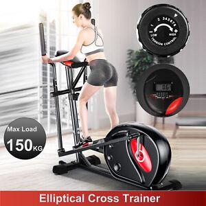Ellittica Cyclette Cross Trainer Allenamento Bicicletta Casa Cardio Workout LCD