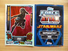 Star Wars Force Attax Serie 4, LE6 Asajj Ventress, limitierte Auflage!