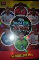 Topps Match Attax Bundesliga 16 17  full set all cards + Mappe Binder ohne Limis