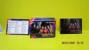 Star Trek DS9 Deep Space Nine Skybox Complete (100) Trading Card Set 1993-LAST 1