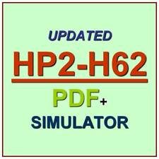 Selling HP Business Personal Systems Hardware 2018 Test HP2-H62 Exam QA PDF+SIM