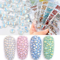 1728Pcs Ongles Strass Cristal Nail Rhinestones Briller Décoration 3D Nail Art