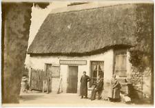 France, Picardie, Prache, Réparations d'Horlogerie  Vintage print.  Tirag