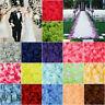 500/1000PCS Flowers Silk Rose Petals Wedding Party Table Confetti Decoration