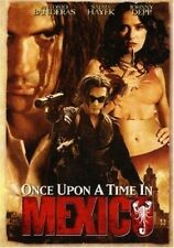 ONCE UPON A TIME IN MEXICO [DVD,2003] Antonio Banderas Salma Hayek Johnny Depp
