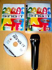 Like Lips Disney Sing It USB Microphone For Playstation 3 PS3 Karaoke Sing Game