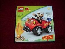 LEGO  DUPLO 5603 FIRE CHIEFS CAR + FIGURE   BRAND NEW