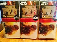 Star Wars The Force Awakens,3 sets,45 Wall Decals,Brand New, FREE same day ship