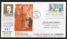 1964 US rocket mail RRI Goddard FDC Roswell #2 EZ 59C2a