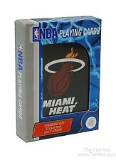 Miami Heat Logo Style Deck of Playing Cards NBA Basketball
