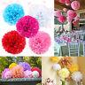 "10pc 8'', 10"", 14'' Tissue Paper Pom Poms Flower Balls Wedding Decoration Party"