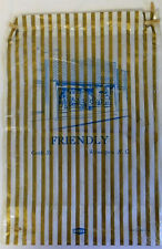 vintage FRIENDLY'S on Castle St., Wilmington NC Plastic GIFT BAG