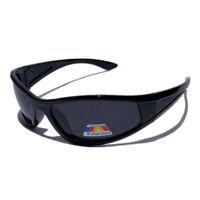 Polarised Sport Fishing Golf Sunglasses 100%UV400 Free Postage AU 422 Black