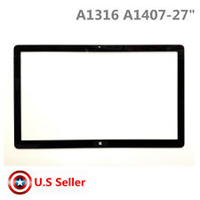 """Screen LCD Front Cover Glass Display 27"""" Apple iMac Cinema 922-9344 A1316 A1407"""