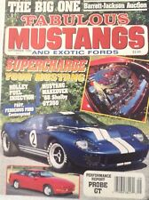 Fabulous Mustangs Magazine Supercharged Mustang September 1990 081517nonrh