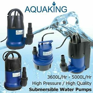 Aqua King Water Pumps 3600L/Hr - 5000L/Hr