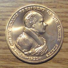 John Quincy Adams President of United States Medal Take a Look
