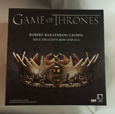 SDCC 2015 Exclusive - GOT Game of Thrones Robert Baratheon Crown - Mini Replica