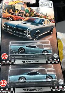New 2021 Hot Wheels Premium Boulevard '66 Pontiac GTO Lots Of 2