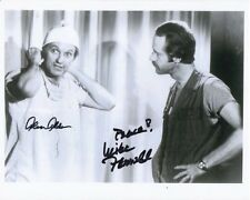 ALAN ALDA & MIKE FARRELL Signed Autographed M*A*S*H HAWKEYE & B.J. Photo