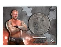 WWE Randy Orton 2016 Topps Commemorative Medallion SILVER Card SN 2 of 25
