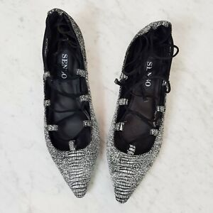 [ SENSO ] Womens Ice Rubberised Lizard Gia III Shoes NEW  | Size EUR 37