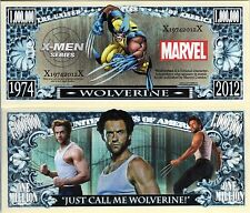 Wolverine Marvel X-Men Series Million Dollar Novelty Money