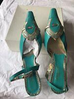 Original Italian Green Leather Women Shoe And Bag Matching (9/43)
