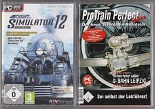 PRO TRAIN Perfect Deluxe + Trainz Simulator 12 Hauptspiel Ultimate Edition PC