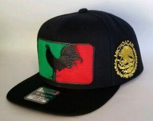 MICHOACAN MEXICO HAT  BLACK  SNAP BACK ADJUSTABLE   NEW