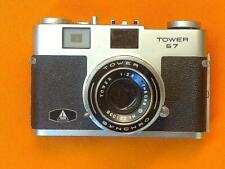 Tower 57 Rangefinder camera, near mint, fully working with case and manual