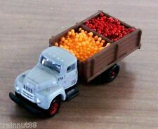 N Scale Classic Metal Works Custom GRAY UNDEC 6 Wh Stakebody Produce Truck