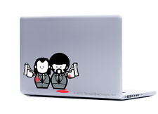 Pulp Fiction sticker decal laptop automotive netbook window stickers