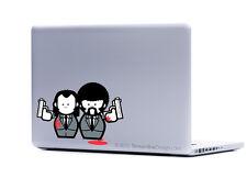 Pulp Fiction sticker decal laptop automotive netbook window stickers