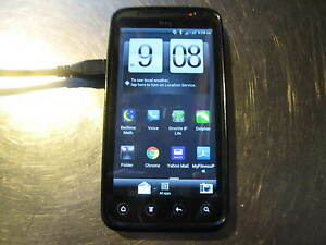 HTC Virgin Mobile PG86100 smart phone cell phone PARTS - NOT WORKING