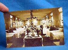 WW1 Period Real Photo Postcard Nurses Unidentified Hospital Ward