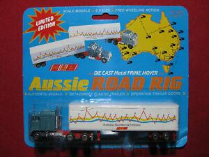1988 Aussie Road Rigs Prime Mover Truck Australian Bicentenary Rare Matchbox