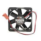 1PC UTEC AT5010L-12M2B ND1 0.08A 12V 5CM 2-wire dual ball silent cooling fan