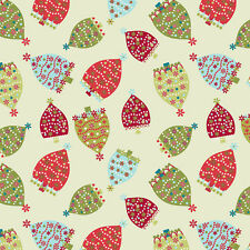 Holiday Magic Christmas Trees Green Fabric
