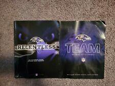 Baltimore Ravens Yearbooks