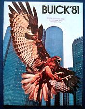 Prospekt brochure 1981 Buick Skylark * Century * Regal * Riviera (USA) PRESTIGE
