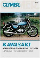 CLYMER MANUAL KAWASAKI EN450A 1985-1990, EN500A 1990-1995 LTD 454 VULCAN 500