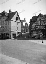Negativ-Großalmerode-Werra-Meißner-Kreis-Hessen-Gebäude-Architektur-Verkehr-3