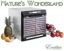Excalibur 10 Tray EXC10EL Food Dehydrator 100% Stainless Steel
