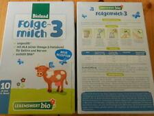 5 Pakete Bioland Bio Babymilch Folgemilch 3 ungeöffnet ab 10.Monat Baby Milch