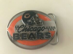 CHICAGO BEARS LIMITED ED. SUSKIYOU BELT BUCKLE #545/10,000 - NEW - FREE SHIPPING