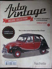 FASCICULE  3 AUTO VINTAGE CITROEN 2 CV CHARLESTON COLLECTION HACHETTE 1/24