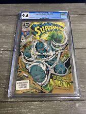 Superman: Man of Steel #18 CGC GRADED 9.6 - - 1st FULL doomsday