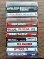 15 Cassette Tape Bundle Lot- Barbara Streisand Dolly Parton Carly Simon Beegees